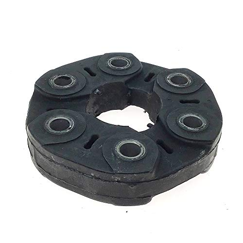 Driveshaft Coupler Flex Joint Disc with Driveshaft Flex Joint Universal Joint 130mm Automatic trans - Fits BMW - Replace# 26117511454 26111209168 - Shaft Flex Disc Drive
