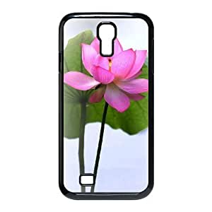 Beautiful lotus Brand New Cover Case with Hard Shell Protection for SamSung Galaxy S4 I9500 Case lxa#892254
