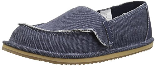 The Children's Place Boys' BB Slipon Deck Slipper, Navy, Youth 5 Medium US Infant - Image 1