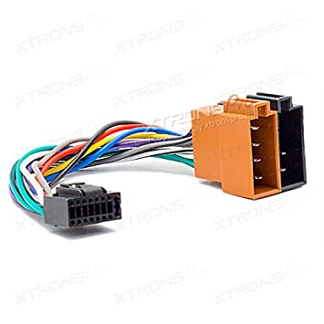 XTRONS T1 Audio T1-451 16 PIN Kenwood ISO Car Stereo Wiring ... on