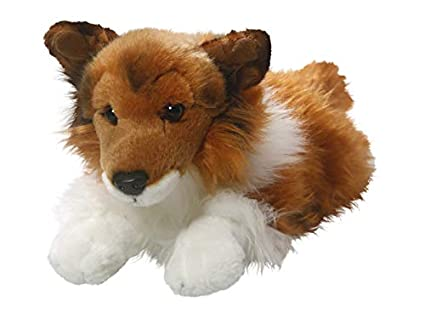 Amazon Com Shetland Sheepdog Collie Brown White 12 Inches 15 5