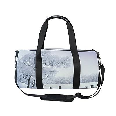 c39927494e good Cooper girl Snowy Forest Duffels Bag Travel Sport Gym Bag ...