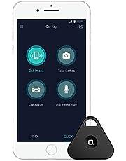 Nonda Key-Finder Sleutel- en Auto-Finder met exclusieve app, multifunctionele tracker, kilometer-tracker, Bluetooth, voor iPhone X/8/8S/7, iPad, Samsung Galaxy S8/S9/Note 4 enz. - zwart