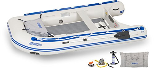 Sea Runabout Sport Eagle - Sea Eagle 106SRKDT Transom Stop Stitch Deluxe Sport Runabout Boat Packages