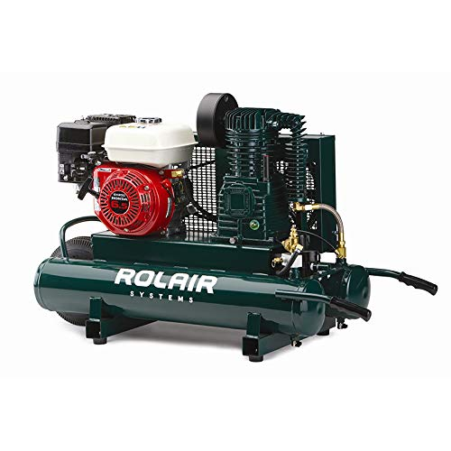 Rol-Air Air Compressor GX200 Honda 9 gal 6590HK18