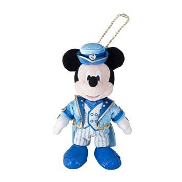 Disney Mar 15 aniversario de Mickey Mouse de peluche de juguete insignia del Ano-de