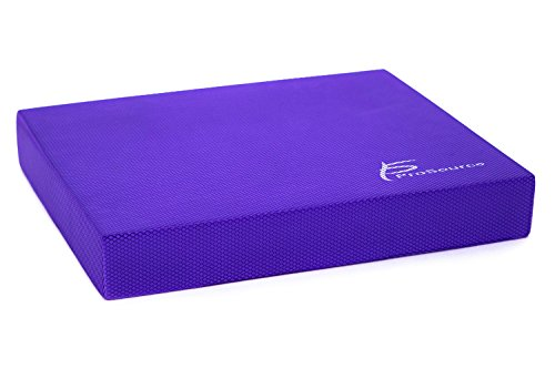 ProSource Exercise Balance Pad Foam Pad Fitness and Stabilit