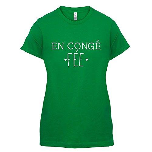 En congé fantasy fée - Femme T-Shirt - Vert - L