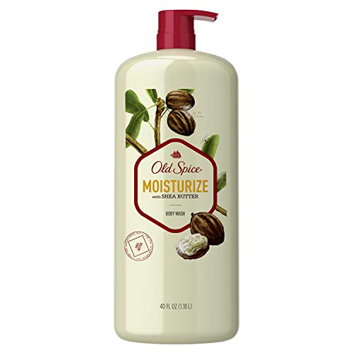 Old Spice Moisturize with Shea Butter Body Wash - 40 oz. bottle with pump