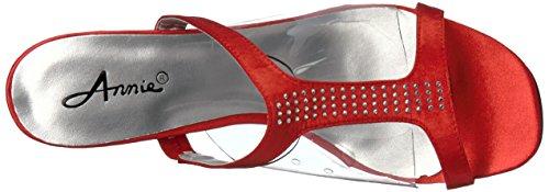 Annie Women Tiger Shoes Sandal Dress Red UU1xAwqrTf