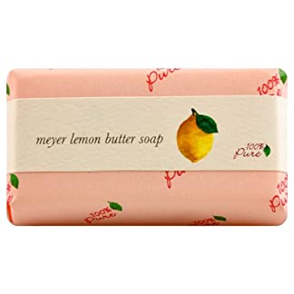 Lemon Butter Soap by 100% Pure, Lavender, 4.5 oz