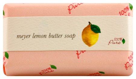 100% Pure Meyer Lemon Butter Soap, 4.5 Ounce