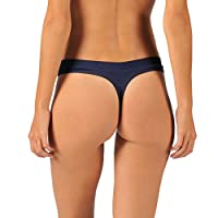 Naked Womens Luxury Modal Thong Loungewear Panty Low-Rise Underwear For Ladies