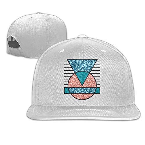 Cookisn Patterns Drawing Flat Visor Baseball Cap Fashion Snapback Hat - 8 Colors (Bush Reducer)