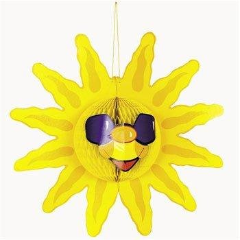 Tissue Sun Decoration from Fun Express