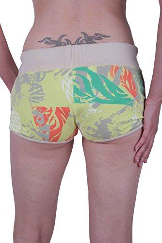 Diesel Damen Shorts Hot Pant Pintha Gelb