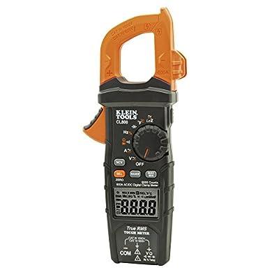 Klein Tools CL800 AC/DC Auto-Ranging 600 Amp Digital Clamp Meter