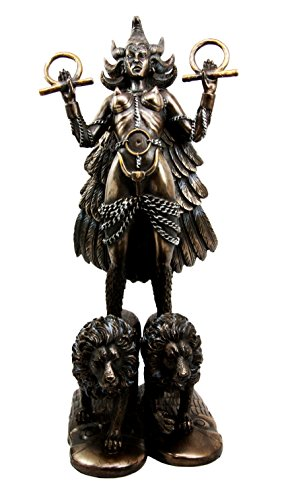 Mesopotamian Goddess Ishtar Astarte Venus Fertility Love War And Sex Figurine 12''Tall by Atlantic