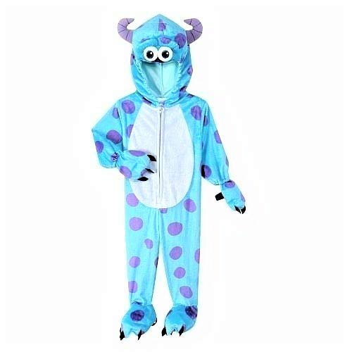 Sully of Monsters Inc Deluxe Plush Costume Disney/Pixar Dress Up 4T/5T Blue -