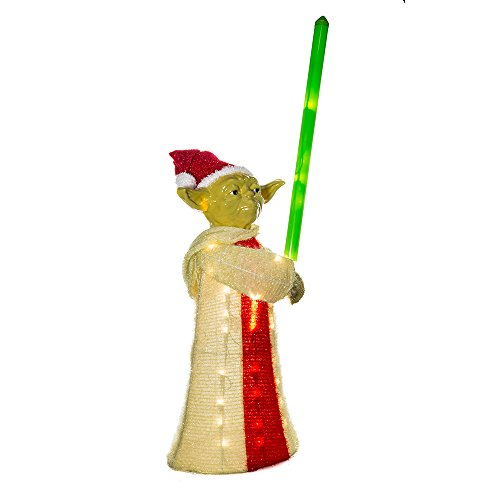 Yoda Christmas Lawn Decor