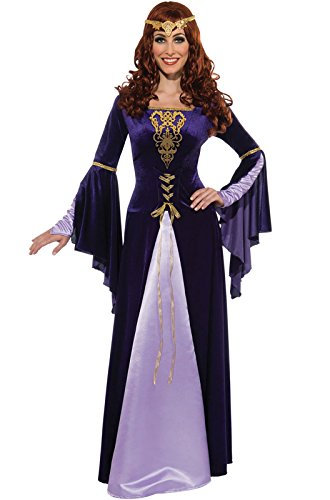 Rubie's Deluxe Guinevere With Headpiece, Purple/Black, Small Costume