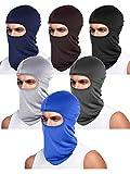 6 Pieces Unisex Balaclava Full Face Mask Winter