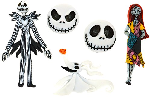 Dress It Up 7737 Disney Button Embellishments, Nightmare Before Christmas -