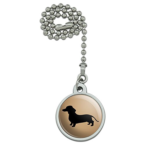 Pull Dachshund - GRAPHICS & MORE Dachshund Wiener Dog Ceiling Fan and Light Pull Chain