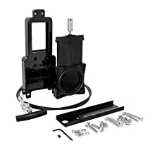 """Camco Waste Valve Kit for RV Sewer Systems - Includes 3"""" Sewer Valve with Metal Handle and 72"""" Extension Cord, Installation Hardware Included - (39519)"""