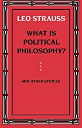 What is Political Philosophy? And Other Studies