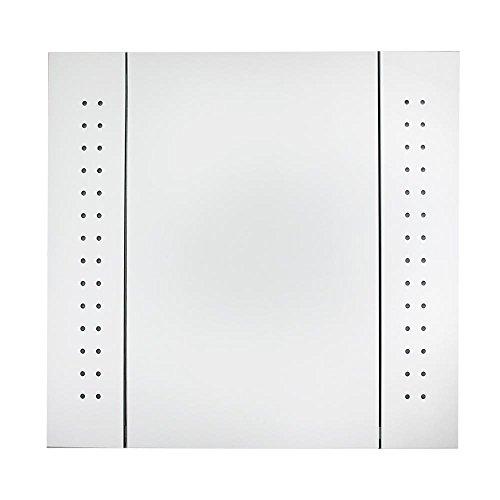 -[ Led Illuminated Bathroom Mirror Cabinet Shaver Demister Sensor Galactic UK  ]-