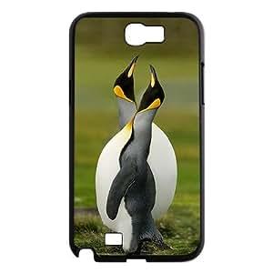 Unique Design -ZE-MIN PHONE CASE- For Samsung Galaxy Note 2 Case -Funny Penguin-CUSTOM-DESIGH 4