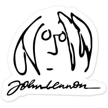 The Beatles John Lennon Vynil Car Sticker Decal