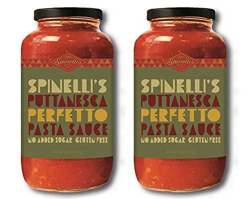 (SPINELLIS SAUCE CO Puttanesca Di Napoli Sauce, 26 OZ)