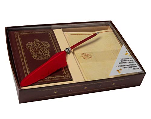 (Harry Potter: Gryffindor Desktop Stationery Set (With)