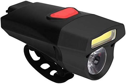 JVSISM 自転車用ヘッドライト 電池防水懐中電灯サイクリング自転車ライト LEDライトナイトライディング用品