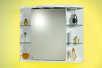Mensole per bagni mensola sospesa per lavabo bagno con - Specchio bagno amazon ...