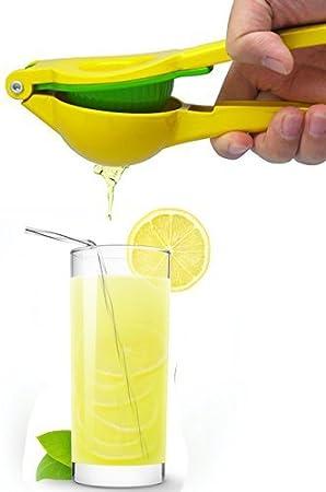 Lima Limón Naranja Exprimidor, Exprimidor Manual, diseño único 2 cuencos de built-in-1 - Exprimidor (Exprimidor de limones: Amazon.es: Hogar