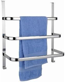 handtuchhalter fr die tr mit 3 stangen und 2 haken verchromt - Wenko Handtuchhalter Dusche