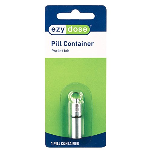 Ezy Dose Pill Storage Container Pocket Fob │Pill Fob (Small)
