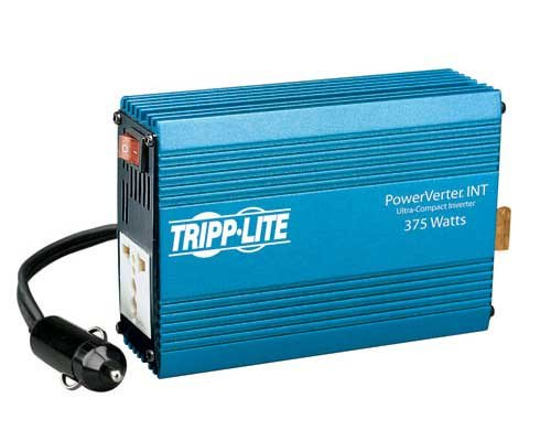 Tripp Lite PVINT375 International Ultra-Compact Car Inverter 375W 12V DC to 230V AC 1 Universal Outlet - DC to AC power inverter - 12 V - 375 Watt - o