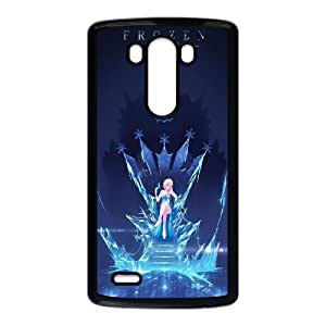 LG G3 Cell Phone Case Black_Disney Frozen Elsa Vfrvh