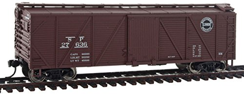 Walthers HO Scale 40' Wood Boxcar w/Flat Roof Southern Pacific/SP #27636 - Ho Southern Pacific Boxcar