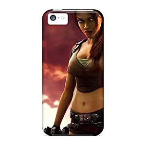 Design cell phone skins New Snap-on case cover Brand iphone 5 / 5s - tomb raider hjbrhga1544