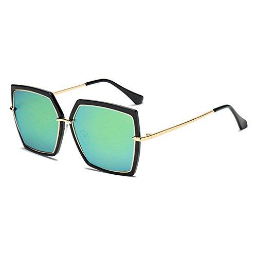 Gafas B con Sol y Gafas creativos Mujer Sol de Hombre de la Sol Caja Regalos de Gafas Moda de Retro Axiba qR8wg4g