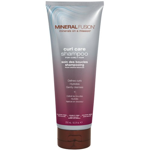 (MINERAL FUSION Curl care shampoo for curly hair by mineral fusion, 8.5 oz, 8.5 Ounce )