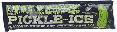 (Van Holten's - Pickle Ice Freeze Pops - 48 Pack)