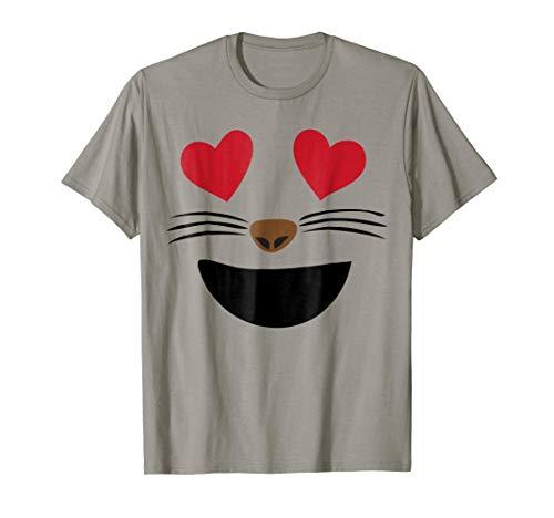 (Emoji Halloween Costume Smiling Cat Heart Eyes Smile)