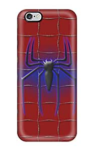Hot Excellent Iphone 6 Plus Case Tpu Cover Back Skin Protector Spider-man