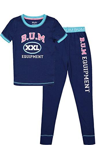 B.U.M Equipment Little Girls Short Sleeve Shirt & Pants Todd